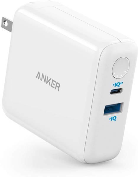 Anker モバイルバッテリー搭載USB充電器