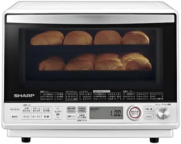 シャープ オーブンレンジ 過熱水蒸気 コンベクション 31L