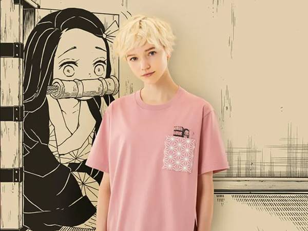 鬼滅の刃・禰豆子(グラフィックTシャツ・半袖・レギュラーフィット)