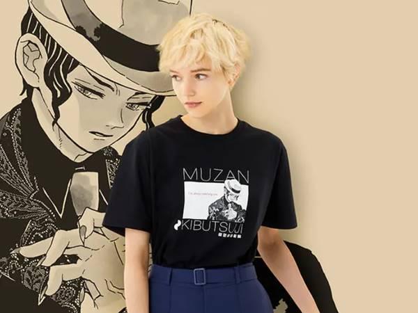 鬼滅の刃・無惨(グラフィックTシャツ・半袖・レギュラーフィット)