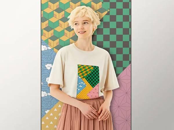 UT・着物(グラフィックTシャツ・半袖・レギュラーフィット)