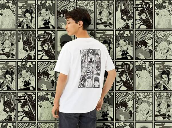 鬼滅の刃・柱(グラフィックTシャツ・半袖・レギュラーフィット)